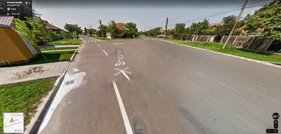 Sens giratoriu provizoriu în cartierul Bujac