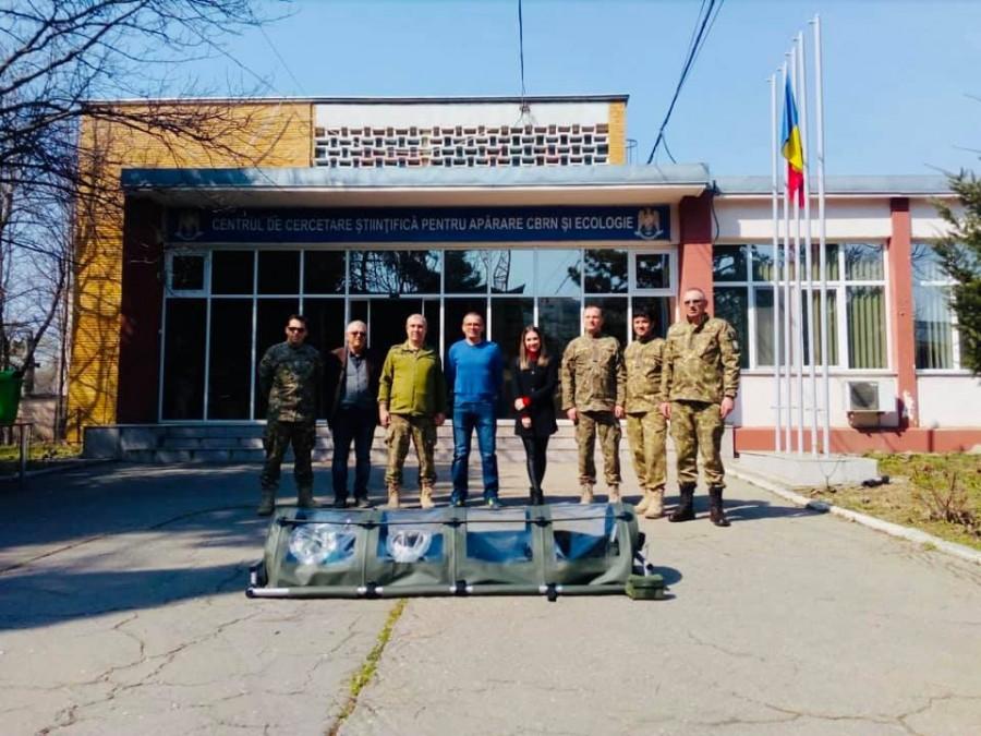 Ei sunt! MApN a prezentat echipa care a realizat în timp record prima izoletă românească