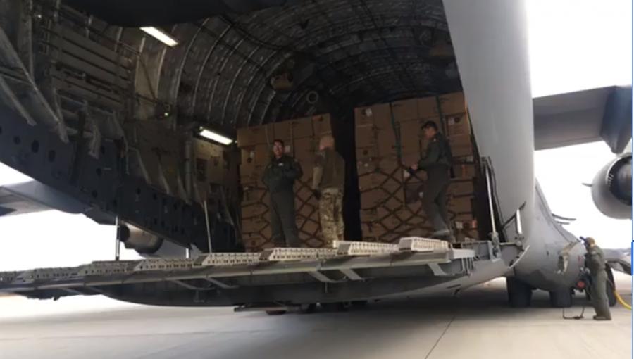 45 de tone de echipament medical din Seul au ajuns pe aeroportul Otopeni