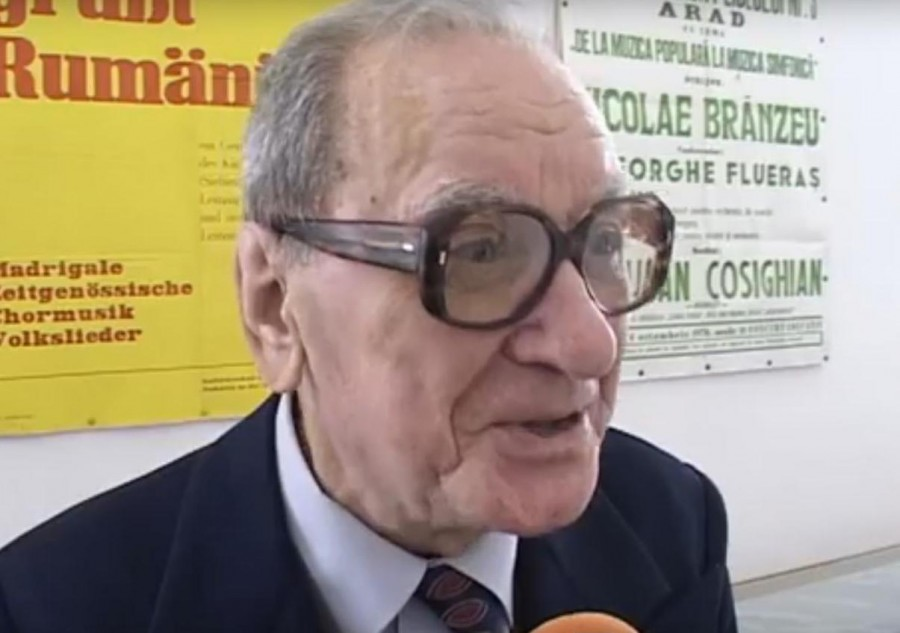 Maestrul Gheorghe Flueraș a încetat din viață la 89 de ani