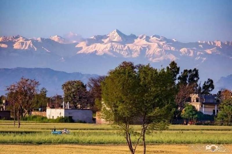 Munții Himalaya, vizibili din India ca urmare a scăderii poluării