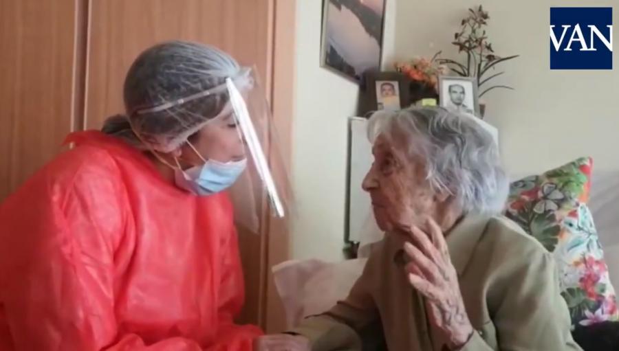 Maria are 113 ani, a supraviețuit pandemiei de gripă și războiului civil spaniol, iar acum s-a vindecat de coronavirus