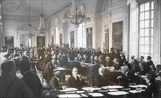 100 de ani de la semnarea Tratatului de la Trianon (4 iunie 1920 - 4 iunie 2020)