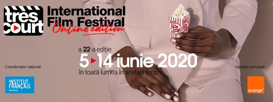 Festivalul  Très Court - o  ediție gratuită, online și simultană în toată lumea; ce trebuie să faci pentru a viziona fimele