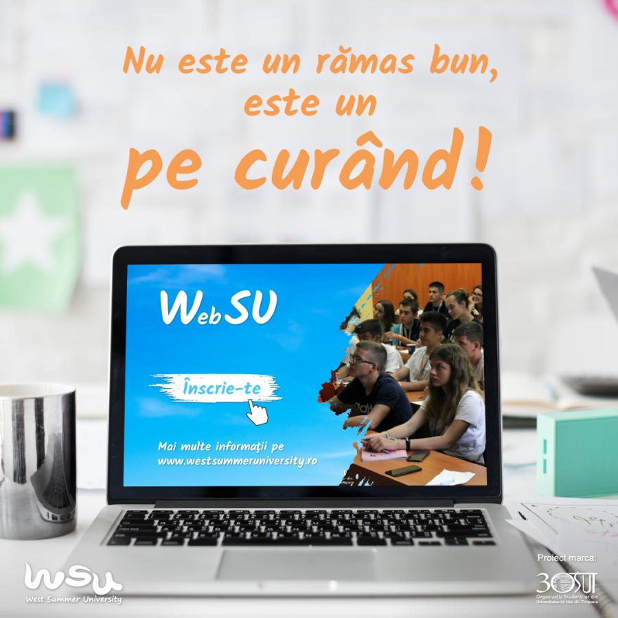 West Summer University pregătește prima universitate de vară pentru elevi anunțată în mediul online!
