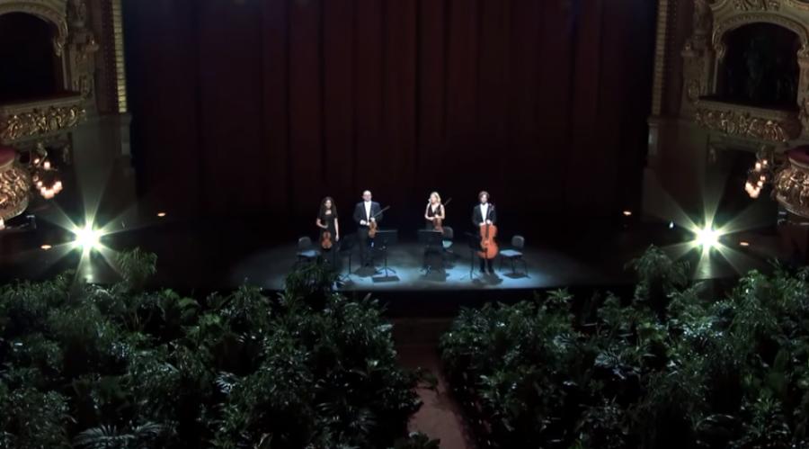 INEDIT. Artiștii Operei din Barcelona au cântat pentru 2.300 de plante decorative