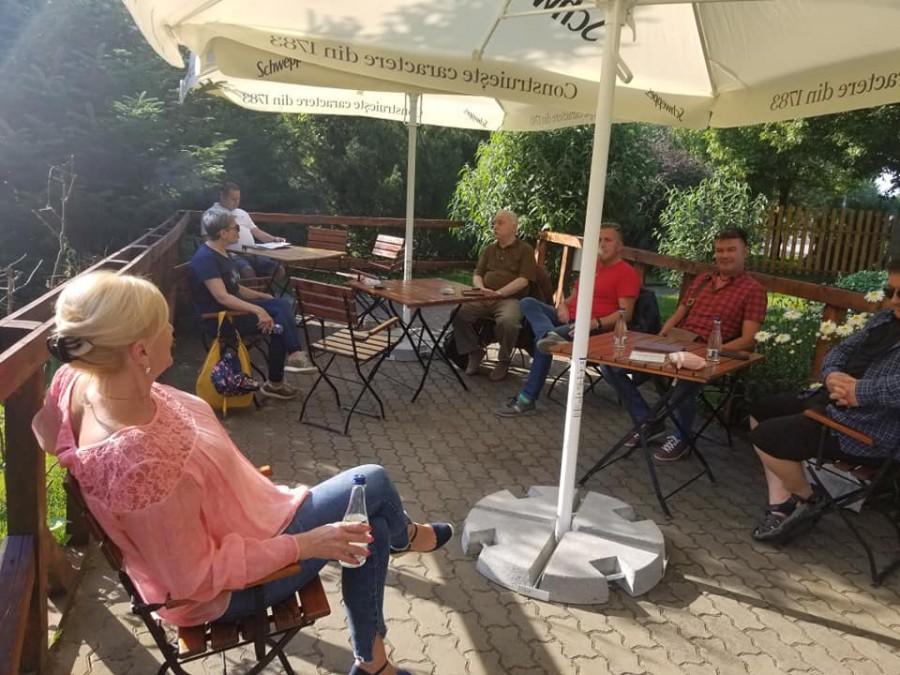 Serată de vară cu GHEORGHE SCHWARTZ la Sufrageria Arădeană