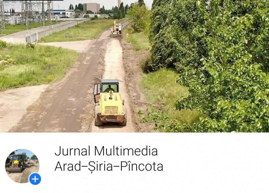 Consiliul Judeţean Arad a realizat un jurnal multimedia on-line pentru un drum județean în lucru