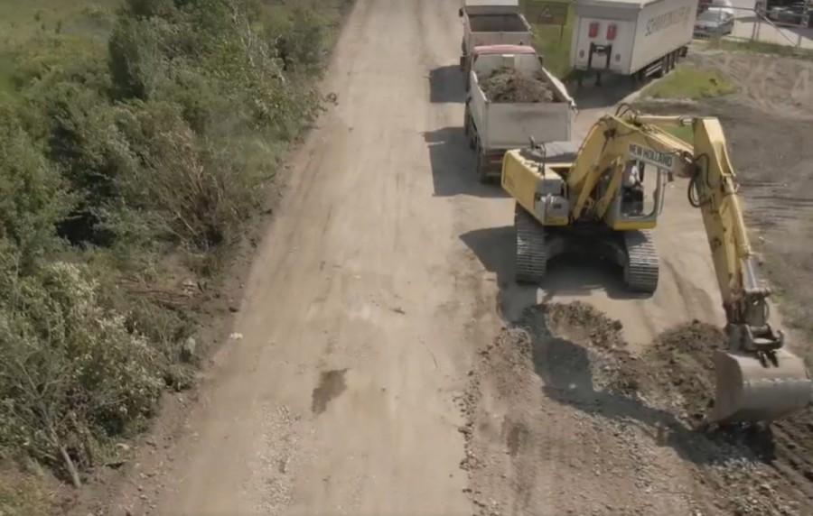 Se închide drumul între Horia și Șiria; șoferii sunt sfătuiți să folosească rute alternative