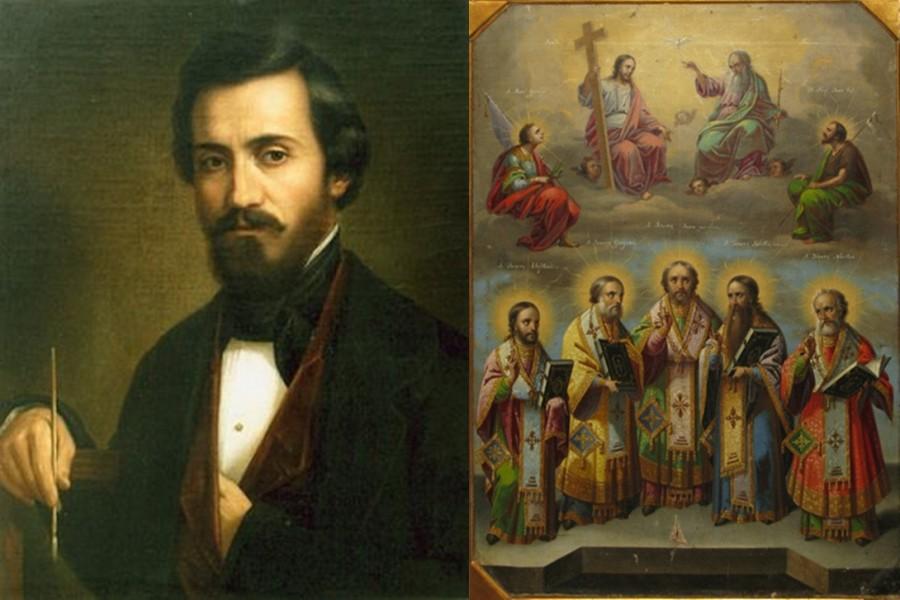 Expoziţie dedicată lui Tattarescu, pictorul a peste 50 de biserici, la Palatul Suțu