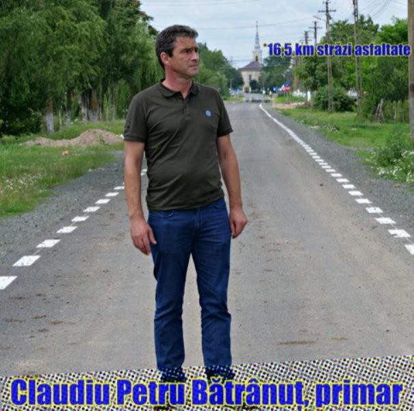 """""""Prin muncă, ambiție, pregătire și implicare se poate!""""; Interviu cu Petru Claudiu Bătrânuț, primarul comunei Grăniceri"""