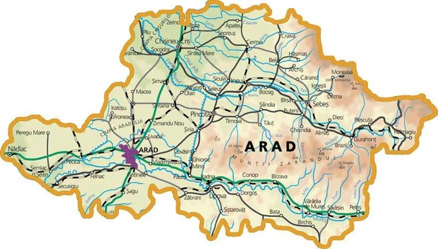 La nivelul Județului Arad sunt înregistrate 125 de persoane pozitive la virusul SARS-CoV-2