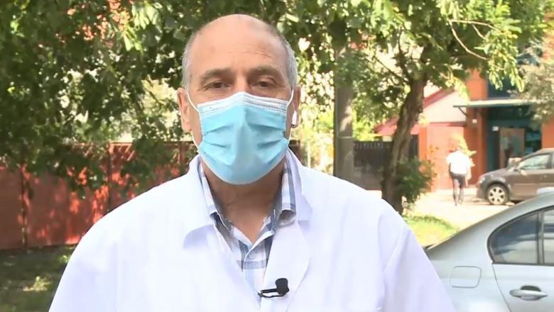 """Doctorul Virgil Musta, apel la responsabilitate și solidaritate: """"Peste puțin timp spitalele vor fi copleșite de numărul de cazuri"""""""