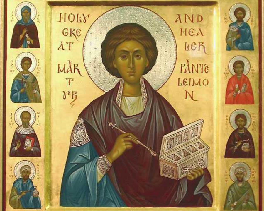 Sfântul Mare Mucenic Pantelimon, ocrotitorul medicilor și tămăduitorul bolnavilor