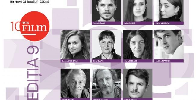 Ei sunt cei 10 actori selectați în programul 10 pentru FILM la TIFF 2020