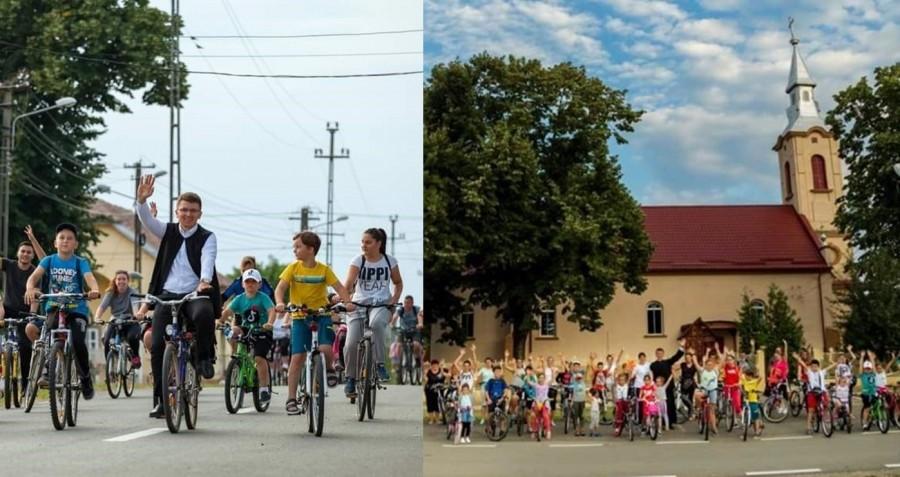Fii viteaz la Firiteaz! Tineri de toate vârstele au participat la o acțiune inedită organizată de Părintele Vlad-Sergiu Sandu