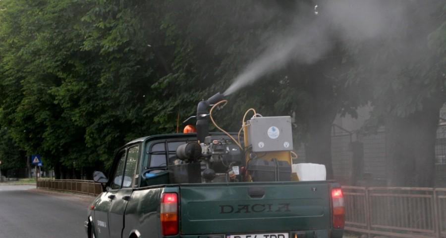 O nouă acţiune acţiune de combatere a ţânţarilor în Pecica