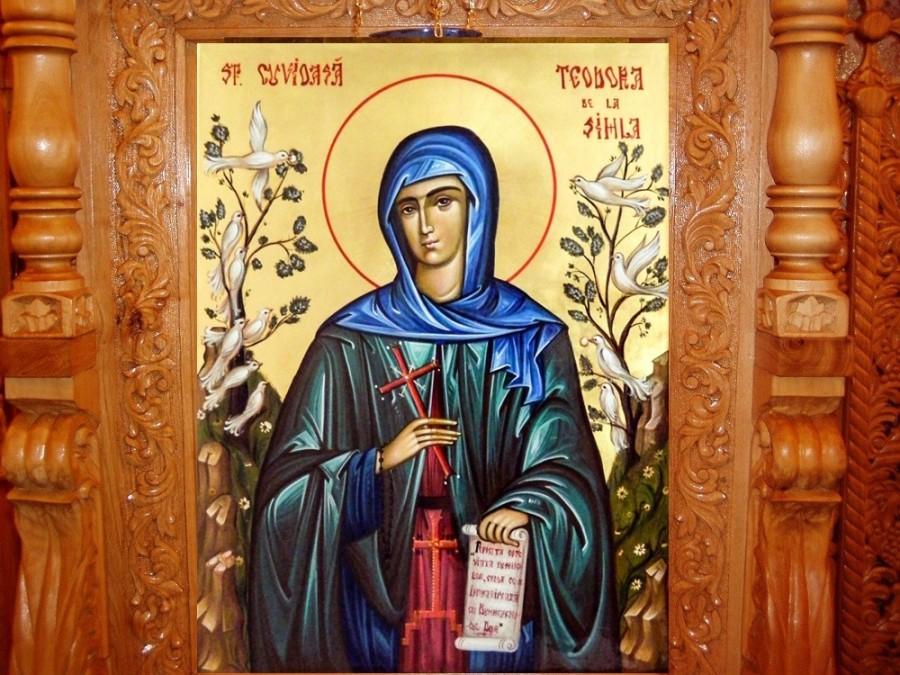Sfânta Cuvioasă Teodora de la Sihla, cea mai aleasă nevoitoare pe care a odrăslit-o vreodată țara noastră