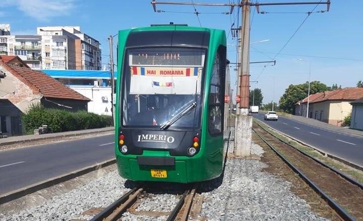 Tramvaiul Imperio circulă de astăzi şi pe Linia 7