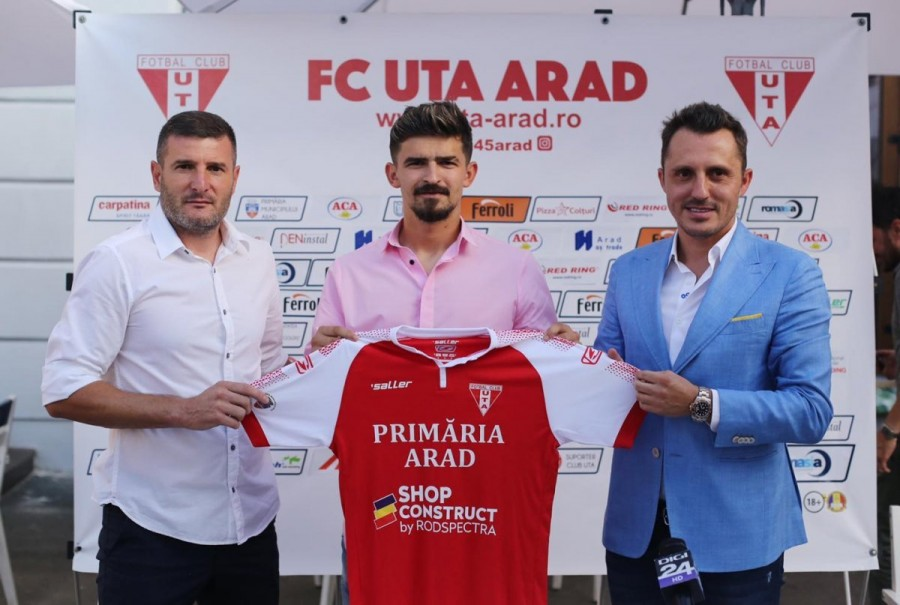Vlad Morar este noul jucător al UTA-ei