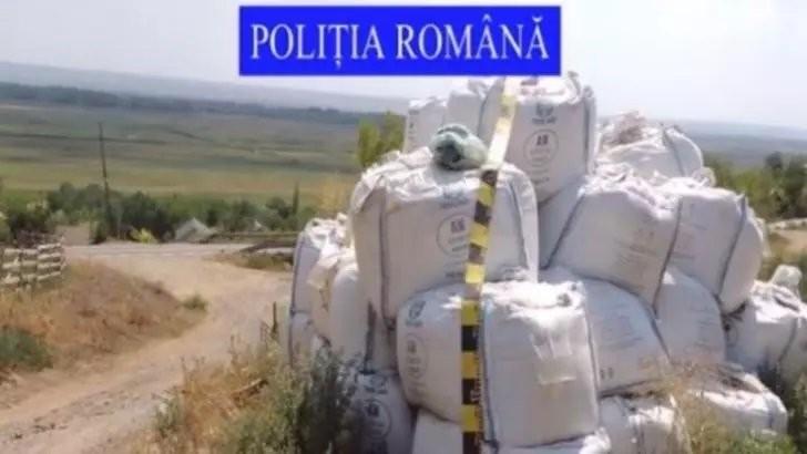 Pericol de EXPLOZIE: Zeci de tone de azotat de amoniu, depozitate în condiții improprii în județul Galați