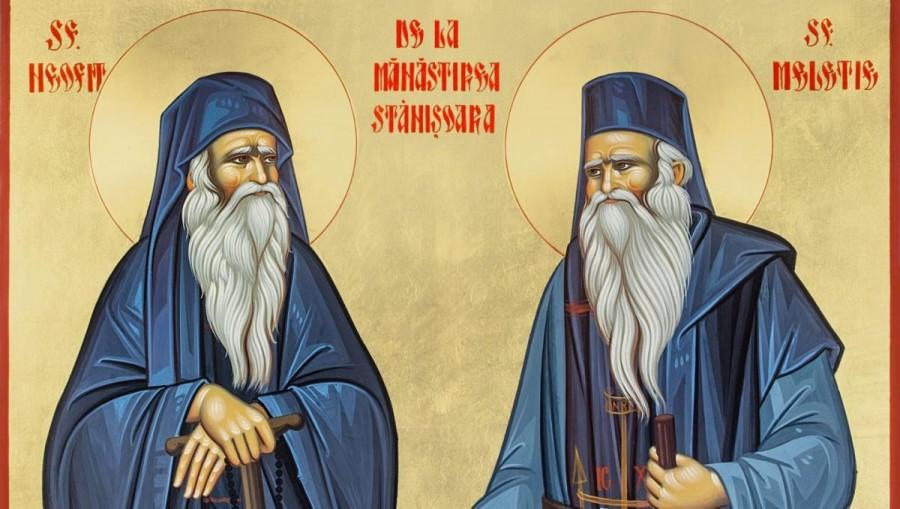 Sfinţii Cuvioşi Neofit şi Meletie de la Mănăstirea Stânişoara, alinători ai bolilor şi sprijinitori ai săracilor