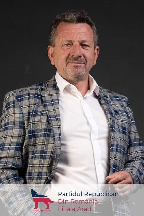 Dintre voi, al vostru! Ionel Ciupe, candidat la președinția Consiliului Județean Arad, din partea Partidului Republican