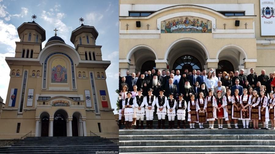Sărbătoare în Cetatea Caransebeșului: 10 de ani de la sfinţirea noii Catedrale și 50 de ani de viață și 20 de arhierie a PS Părinte Lucian
