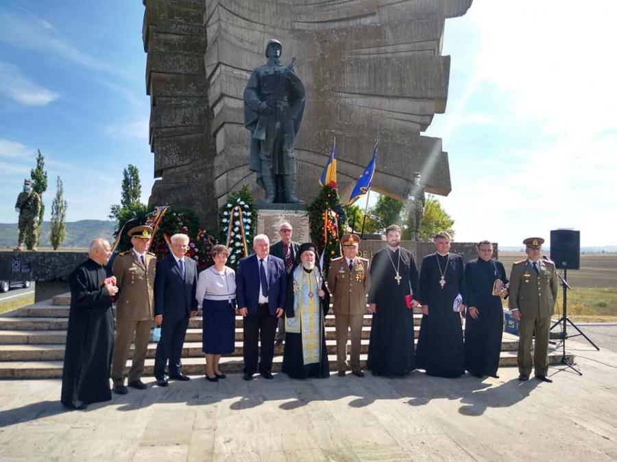 Eroii de la Păuliș, comemorați la 76 de ani de la luptele pentru apărarea Văii Mureșului