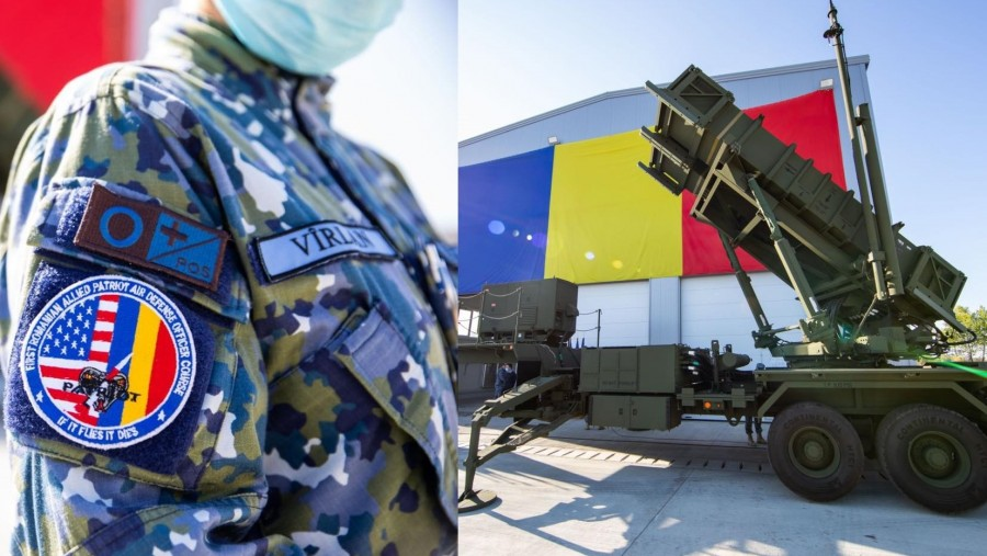 Primul sistem de rachete sol-aer PATRIOT a ajuns în România