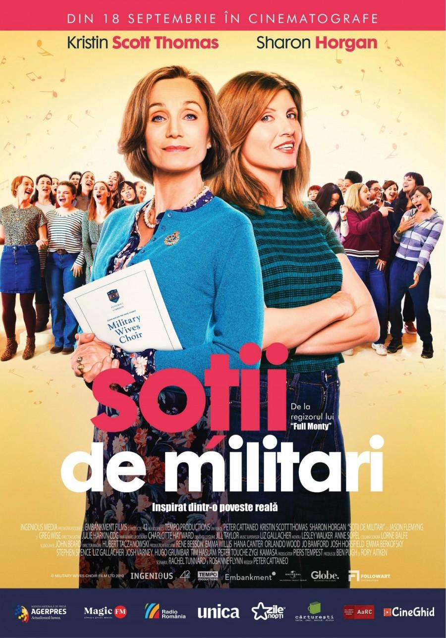 """""""Soții de militari"""", un film inspirat dintr-o incredibilă poveste adevărată,  din 18 septembrie în cinematografe"""