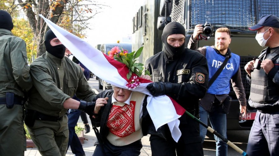 Președinții României, Poloniei și Lituaniei au semnat o declarație comună pentru poporul din Belarus