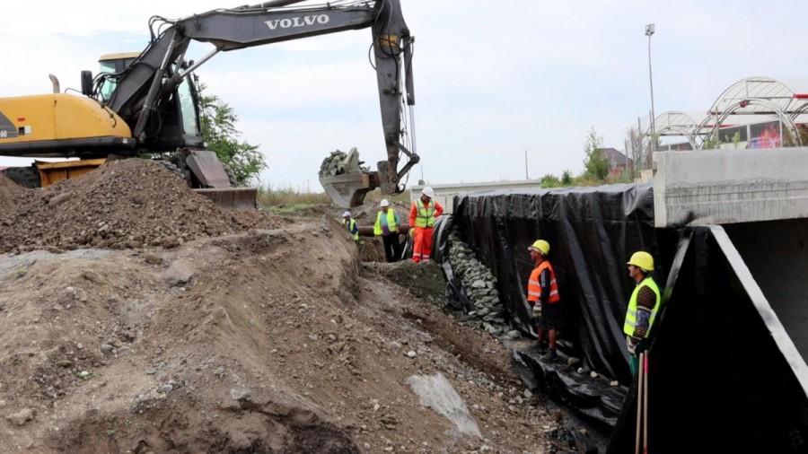 CJA construiește șase podețe noi pe drumul Arad-Șiria-Pâncota; între Arad și Horia se circulă de la sfârșitul săptămânii trecute