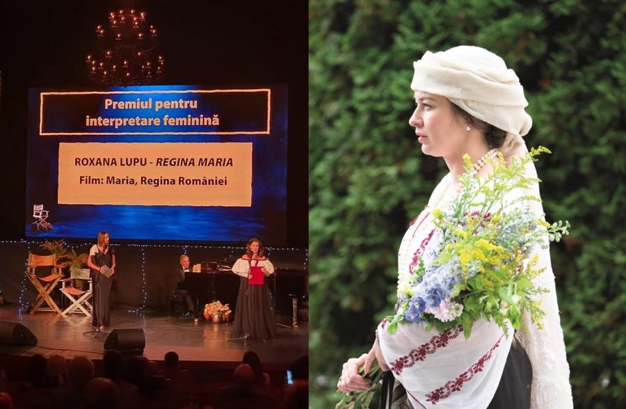 Gala UCIN 2020 – Roxana Lupu a câștigat Premiul pentru Interpretare Feminină - Rol Principal, pentru rolul Regina Maria