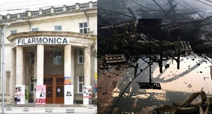 Frumoasă-i solidaritatea! Muzicienii din București vor organiza un concert caritabil pentru reconstrucţia Filarmonicii din Chişinău