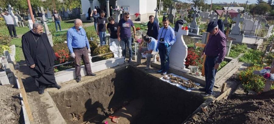 Centrul de Investigare a Crimelor Comunismului efectuează săpături arheologice la Târgu Ocna