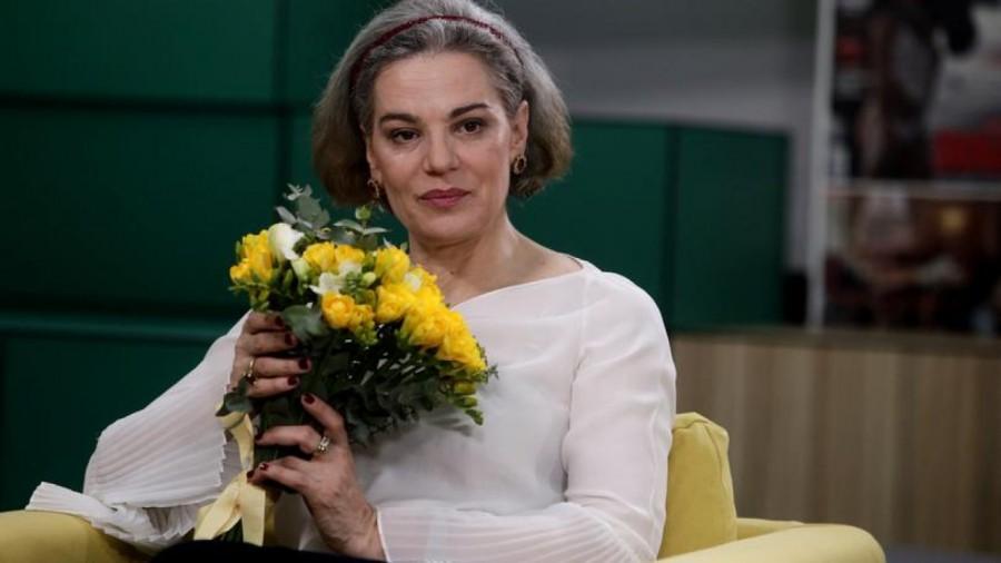 """Maia Morgenstern: """"Aștept pensia. E vremea. Muncesc de peste patruzeci de ani. Amurgul e violet. Aștept pensia. Merit."""""""