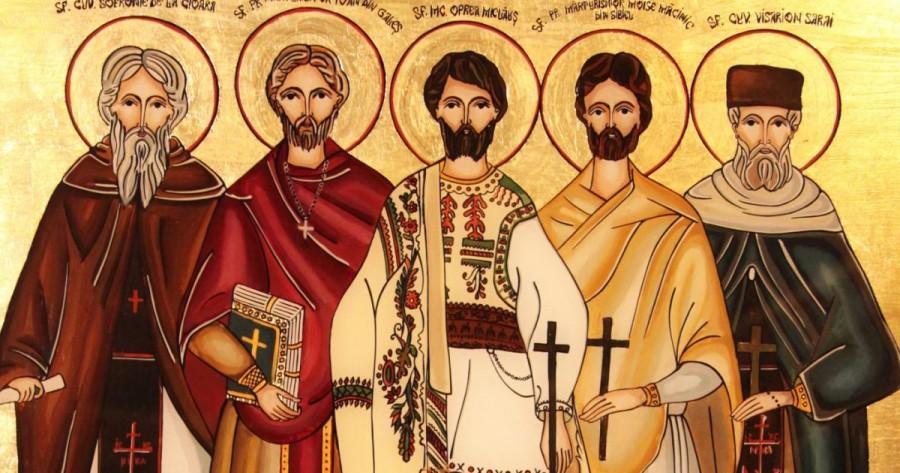 Sfinții Mărturisitori Ardeleni: Visarion și Sofronie, Oprea, Ioan din Galeș și Moise Măcinic din Sibiel