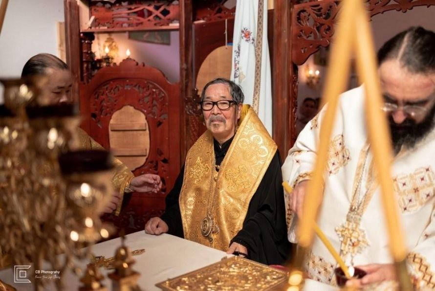 Biserica românilor din Tokyo a fost sfinţită