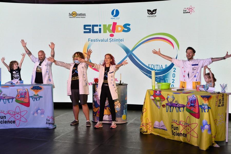 Cel mai mare festival al stiinței, SCIKiDS, va fi organizat, in premiera, online