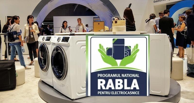 """Din 15 decembrie, românii își vor putea cumpăra electrocasnice și electronice noi prin Programul """"Rabla pentru Electrocasnice"""""""