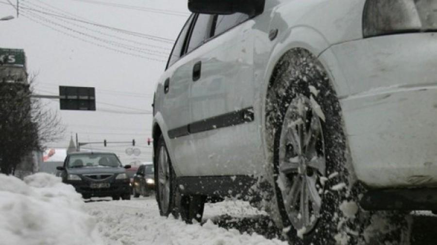"""IPJ Arad: """"Circulați preventiv, în condiții de iarnă"""""""