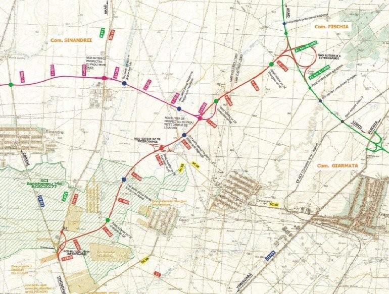 Cât va costa drumul de legătură dintre Autostrada A1 şi DN 69 şi cât vor dura lucrările