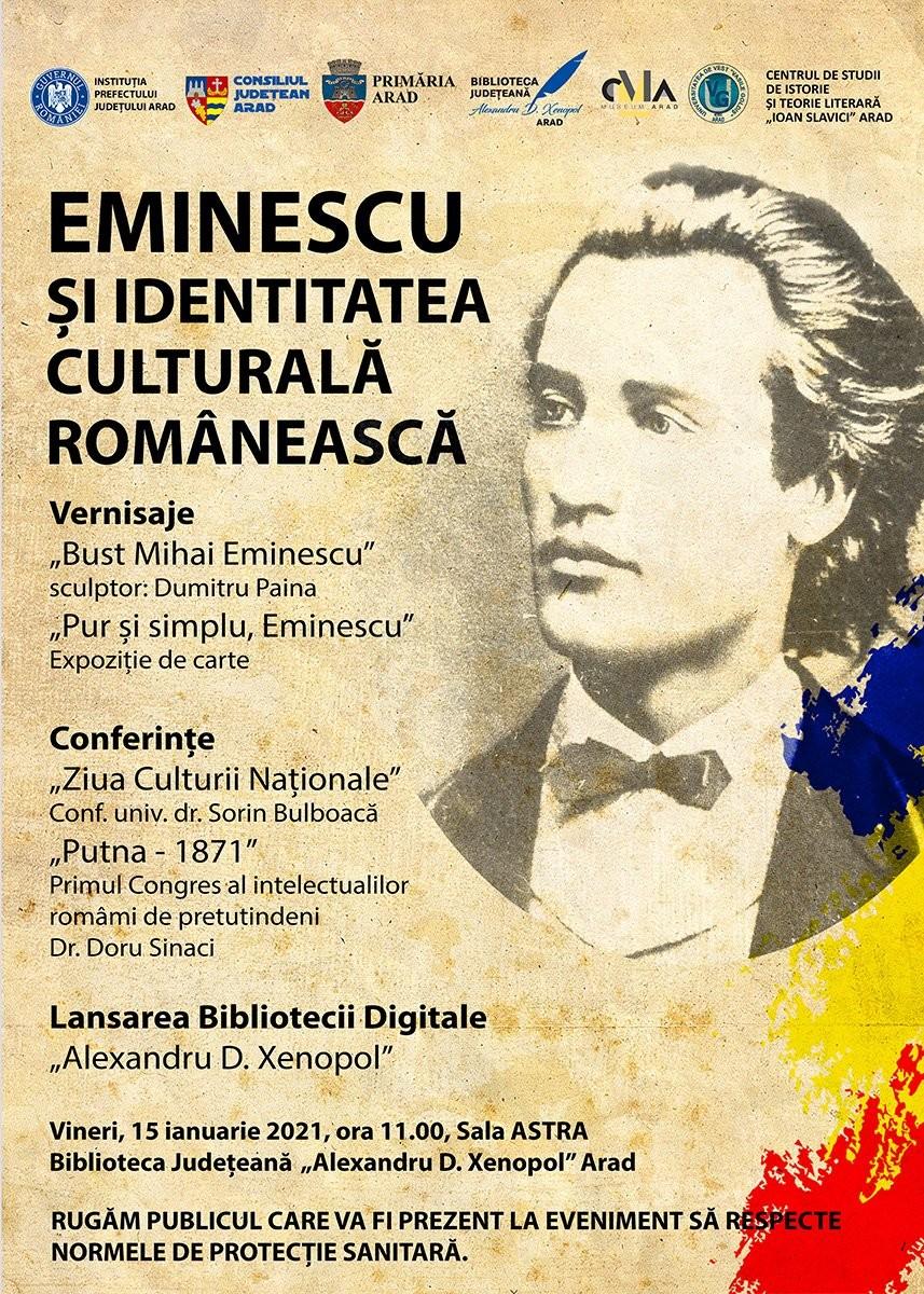 """Ziua Culturii Naţionale celebrată la Biblioteca Județeană """"Alexandru D. Xenopol"""""""
