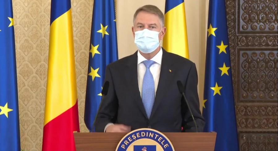 Klaus Iohannis: Mă voi vaccina public vineri, pe 15 ianuarie. Campania de vaccinare este un real succes