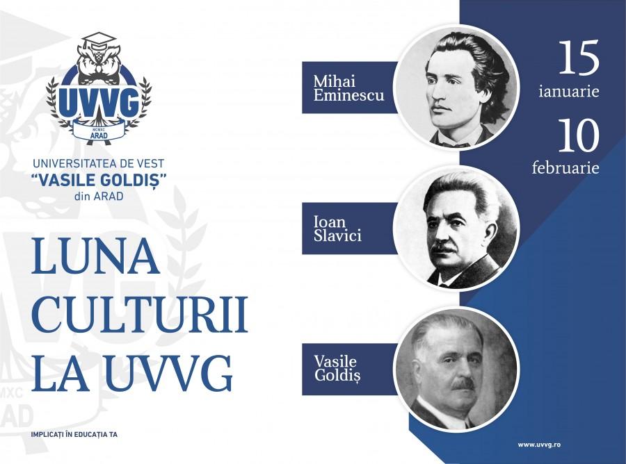 Luna Culturii la UVVG