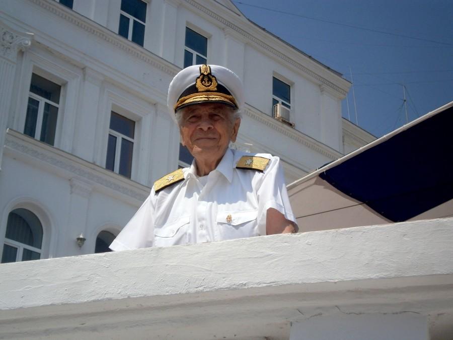 Singurul veteran de război în viață al Forțelor Navale Române a împlinit 102 ani