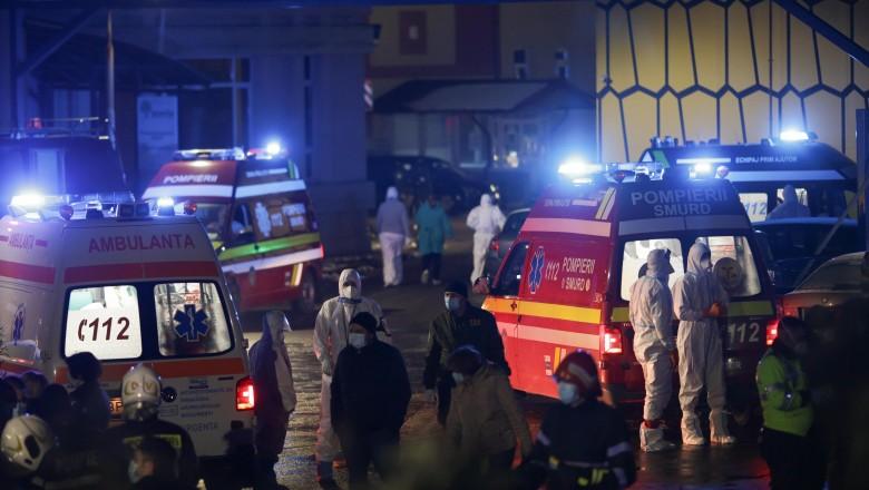 Numărul pacienților morți în urma incendiului de la Matei Balș a ajuns la 16