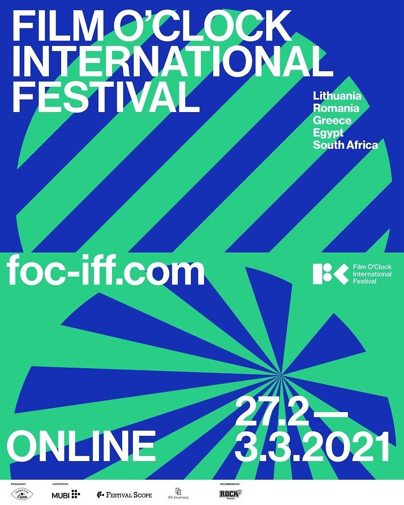 În perioada 27 februarie - 3 martie 2021, Film O'Clock, un nou festival de film, își va începe călătoria în jurul lumii