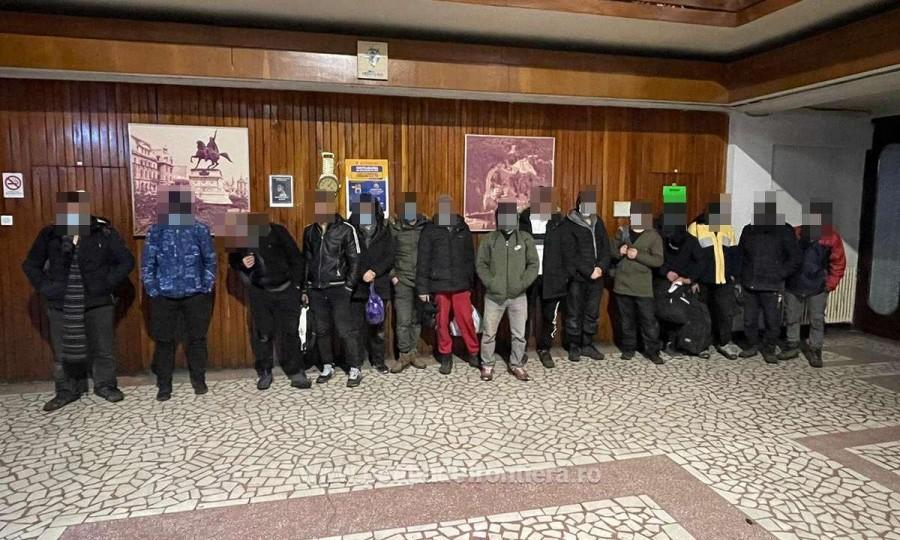 38 de cetăţeni din Afganistan şi Pakistan, depistați la graniţa cu Ungaria